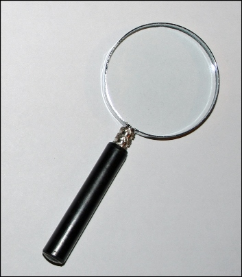 Magnifying Glass to find a house cleaner